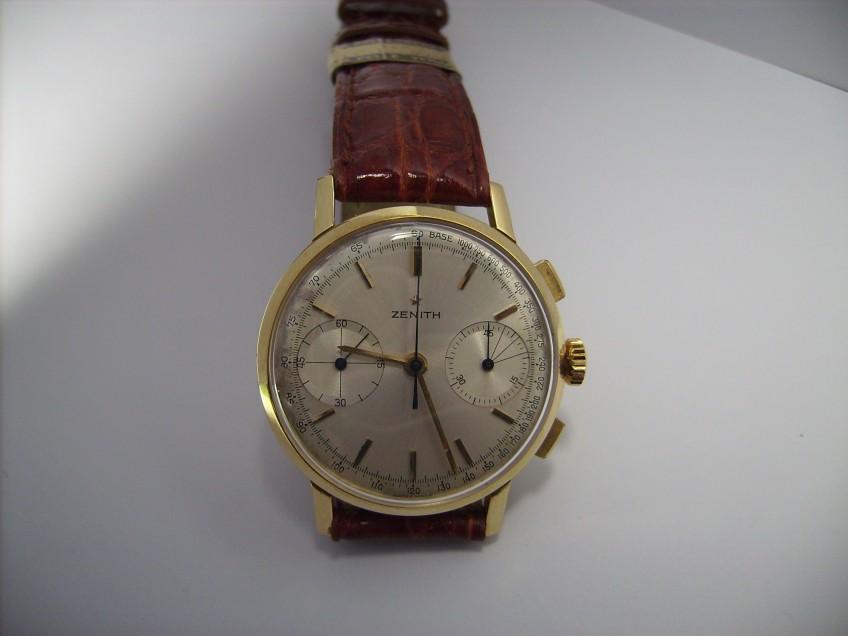 (Italiano) Cronografo Zenith Oro Giallo